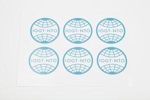 Dekaler IOGT-NTO-loggan (8 cm)