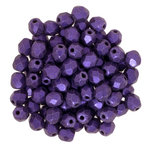 Firepolish 4 mm  Metallic Suede - Purple