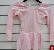 Långärmad balettklänning