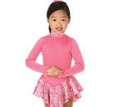 Ljusrosa klänning i fleece