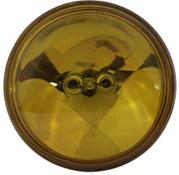 """Insats Spotlamp S/Bm 4-1/2"""",Gul,Klart Glas"""