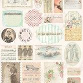 Stickers Vintage Dearly Beloved