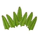 Gröna blad Fern 7 st