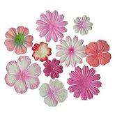 Blommor Rosa Mix