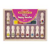 Stämpelset Deluxe Happy Handles