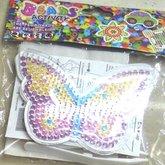 Pärlplatta med pärlor Fjäril