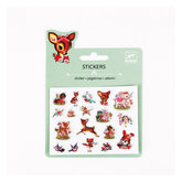 Stickers Puffy - Vintages Animals