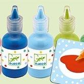 Färg 8 flaskor 30 ml