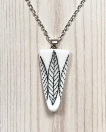 Halsband Salix Svart