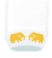 Halsband Elefant Gul
