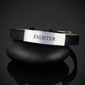 "Läderarmband ""FIGHTER"""