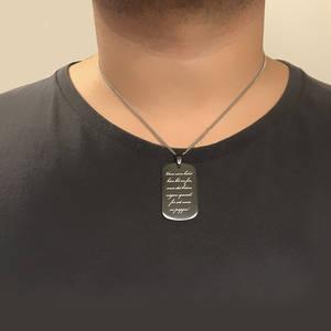 Halsband el. Nyckelring Grey
