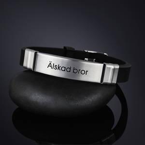 """Armband """"Älskad bror"""""""
