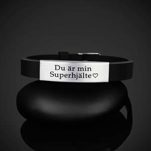 "Armband ""Du är min Superhjälte"""