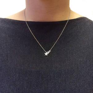 Halsband Stjärnfall Stål