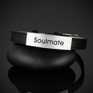 "Läderarmband ""Soulmate"""