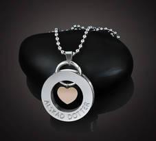 """Halsband Kärlek """"Älskad Dotter"""""""