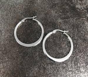 Örhängen Ringar stål