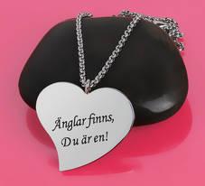 """Halsband """"Änglar finns, Du är en!"""""""