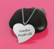 "Halsband ""Familjen betyder allt"""