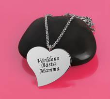 """Halsband """"Världens Bästa Mamma"""""""
