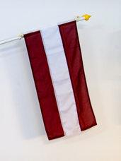 Lettland Flagga