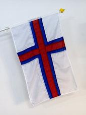 Färöarna fasadflagga