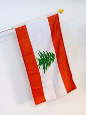 Libanon Flagga