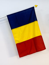 Rumänien Flagga
