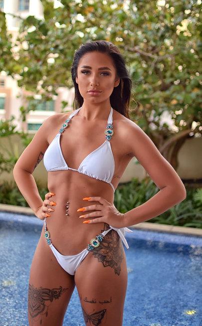White Jade bikini