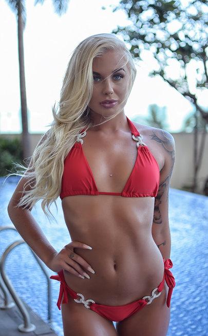 Glamorama Red Bikini
