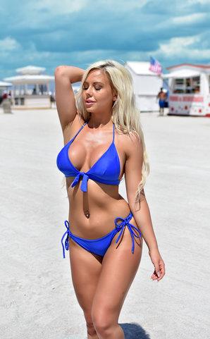 Blue Isis Vintage Bikini