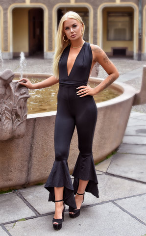 Black Aurora Jumpsuit