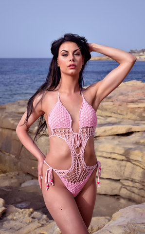 Raspberry Dream Monokini