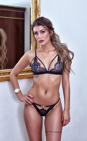 Miss Raunchy lingerie set