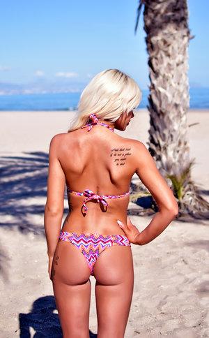 Red passion bikini