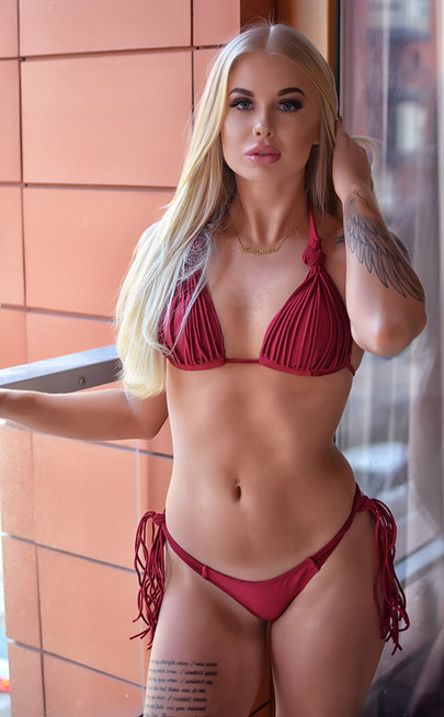 Red Diamond bikini