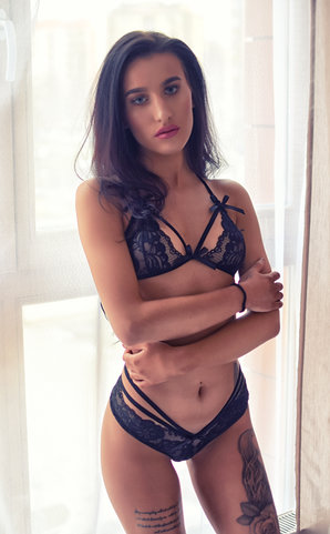 Black Passion lingerie set