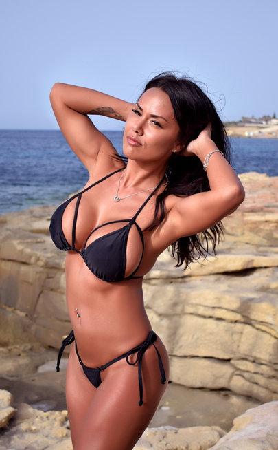 Ninja girl bikini