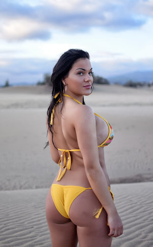 Hawaiian Punch bikini