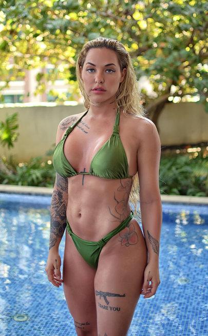 Green Sapphire bikini