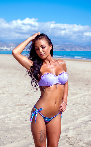 Purple passion bikini