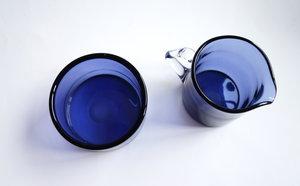 Rihiimäen Lasi Nanny Still - Sugar bowl & creamer