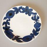 Gustavsberg Stig Lindberg - Blue aster small plate