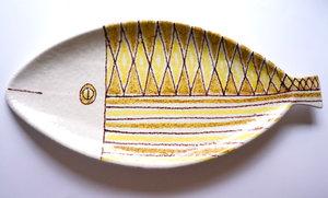 Big fish dish Italy Raymor Bitossi