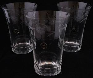 Grogtumbler Beer  crystal glass 1940´s