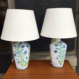 Bordslampa i keramik - Italien