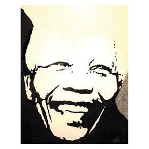 Furniture Mandela Art silver