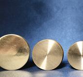 Nested Coin Box Brass 4