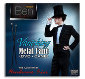 Vanishing Metal Cane by Taiwan Ben Magic